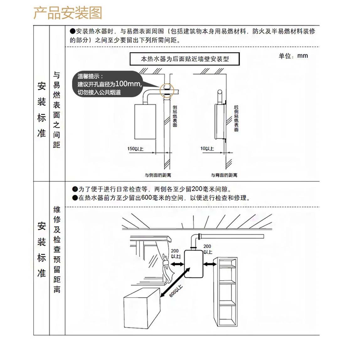方太JSG21-11BESS安装示意图