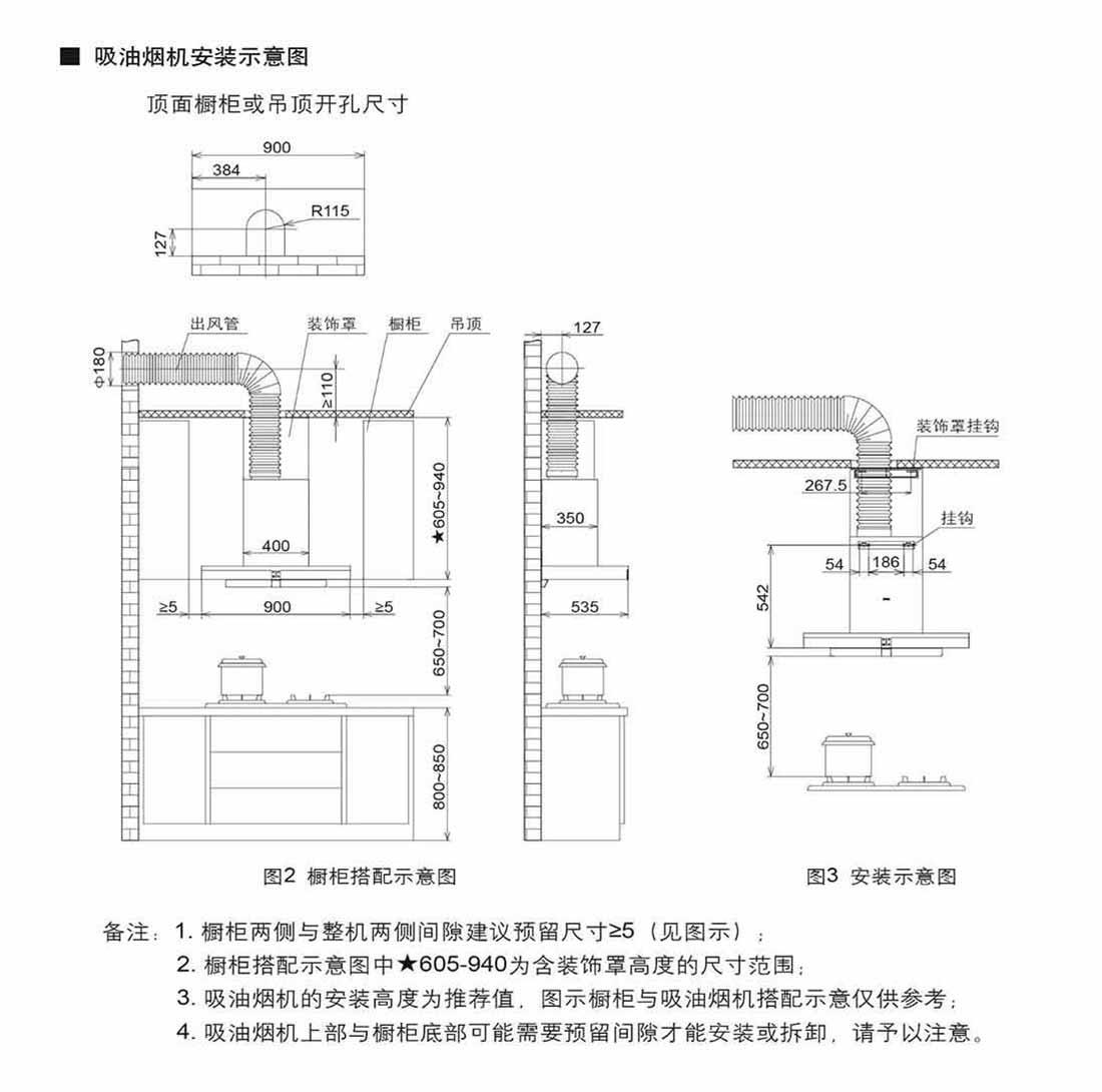 方太CXW-200-EM02TE安装示意图