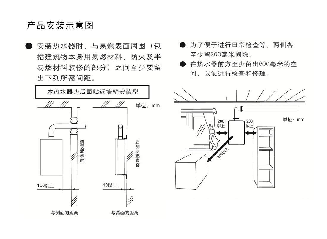 方太JSQ31-X1601安裝示意圖