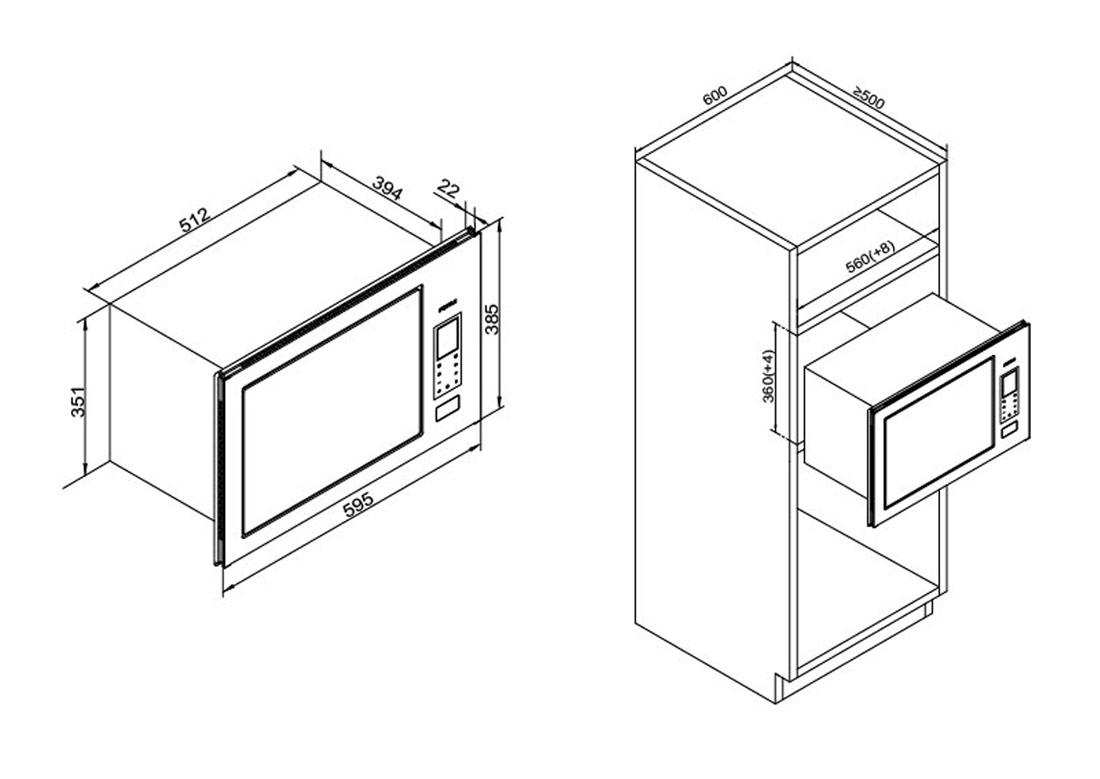 方太W25800SH-Z1安装示意图
