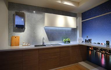 家装设计师教你如何选购厨房燃气热水器